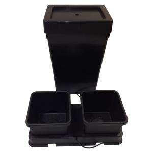AutoPot easy2grow 2 Kit 2 x 15l Töpfe schwarz, inkl....