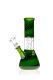 Black Leaf Glasbong mit Domperkolator grün 14,5