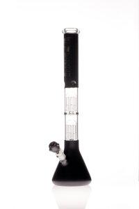 Blaze 2x 8-Arm Perc. Bong schwarz Eis 5mm