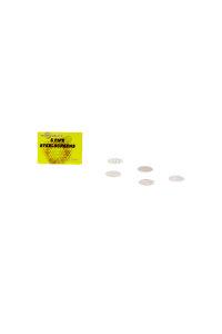 Stahleinlegesieb 5 Stück Ø 12,5mm gelb