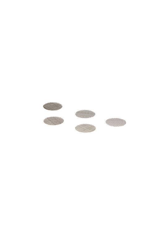 Stahleinlegesieb 5 Stück Ø 16,5mm rosa