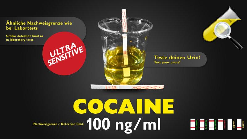 CleanU Coca Drogentest Sensitiv 100 ng/ml