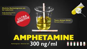 CleanU Amphetamine Sensitiv 300 ng/ml