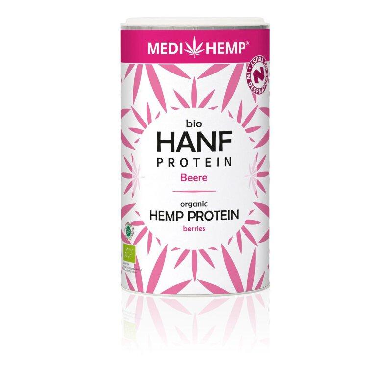 Medihemp Bio Hanfprotein Beere 180g