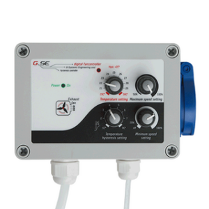 GSE FANCONTROLLER Temperatur, min.-max Speed, Unterdruck, Hysteresis 10A
