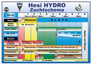Hesi Hydro Blüte 1 l