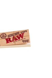 RAW Filter Tips Wide perforiert 25 x 58 mm