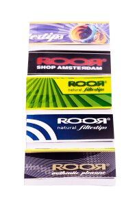 Roor Filter Tips 2,5 x 6 cm 32 Blatt