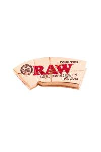 Raw Cone Filter Tips Perfecto perforiert 32 Blatt