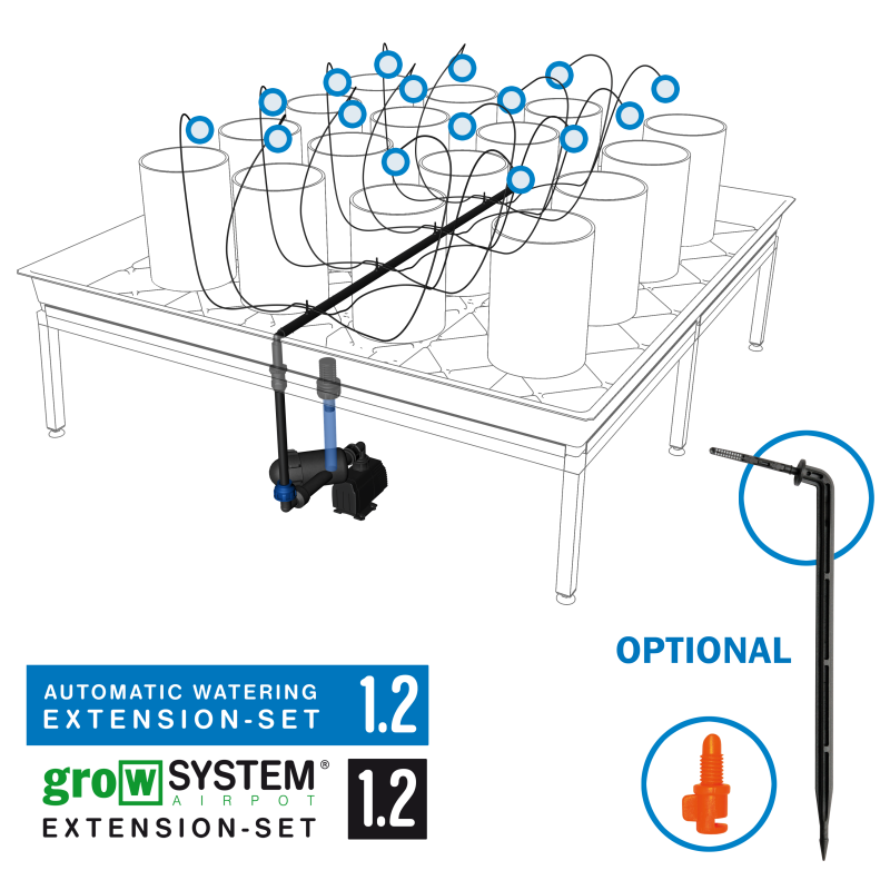 growTOOL Automatic Watering Extension Set 1.2 ohne Tank