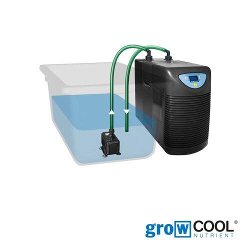 growTOOL Wasserkühler HC-150A inklusive Pumpe