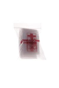 Baggy 40 x 60 mm 50µ 100 Stück First Aid