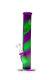 Jelly Joker Silikon Bong lila - grün