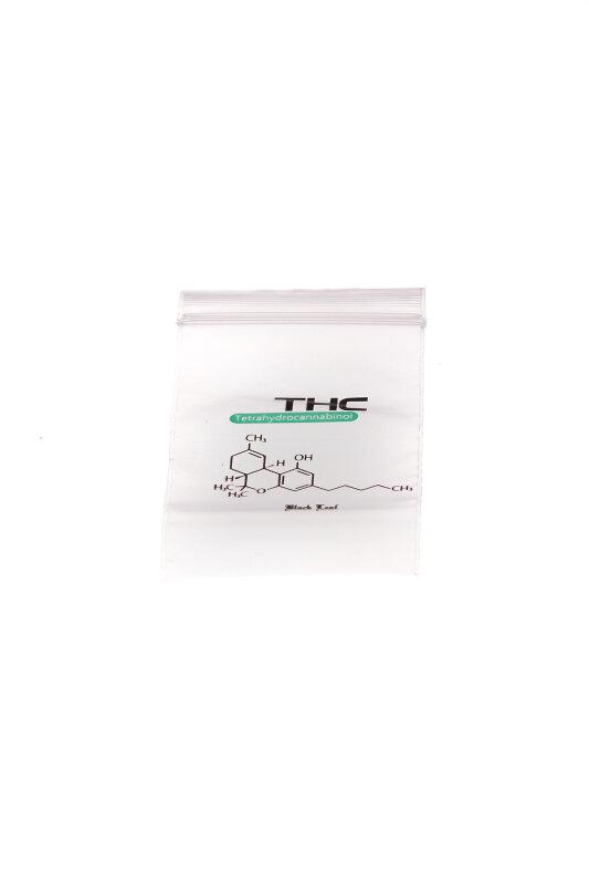 Baggy 40 x 60 mm 50µ 100 Stück THC