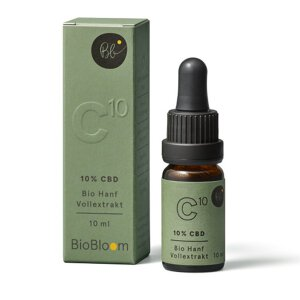 BioBloom Bio CBD Hanfextrakt NaturalTEN 10% CBD 10 ml