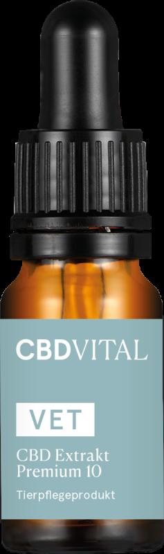 CBD VITAL VET 10% CBD Extrakt Premium 10ml