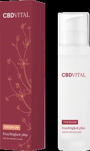 CBD VITAL PREMIUM CBD Bio Kosmetik Feuchtigkeit plus 50ml