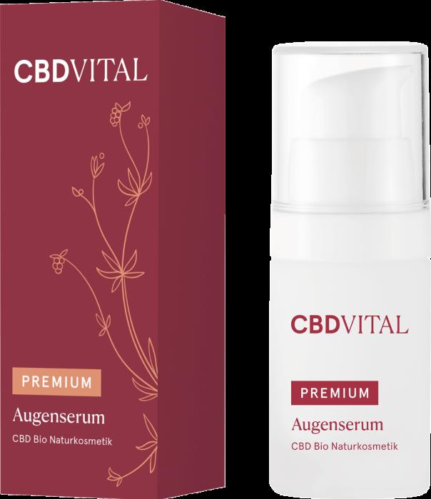 CBD VITAL PREMIUM CBD Bio Kosmetik Augenserum 15ml