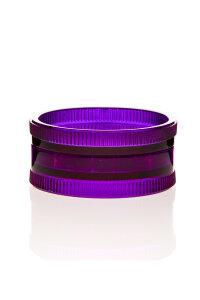 Acryl Mühle 2-teilig violett Ø 57 mm