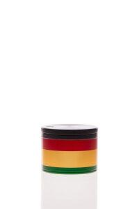 Alumühle Black Leaf 4-teilig Rasta Ø 39 mm