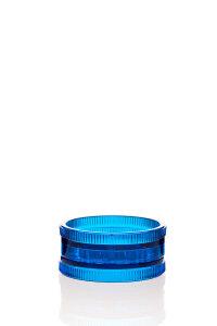 Acryl Mühle 2-teilig blau Ø 57 mm