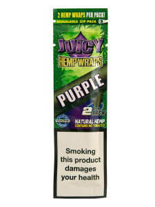 Juicy Jay´s Hemp Wraps Purple 2 Stück