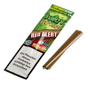 Juicy Jay´s Hemp Wraps Red Alert 2 Stück