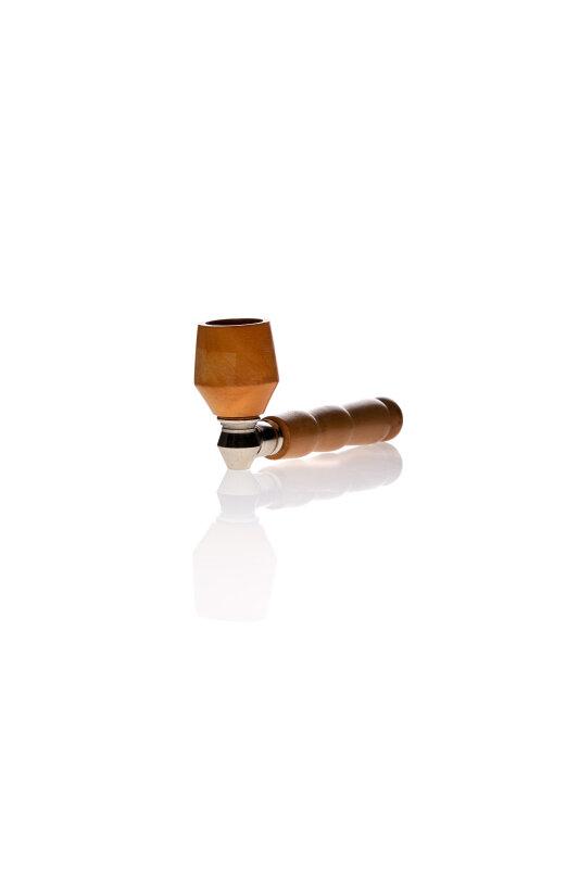 Holz Schraub-Pfeife L=11cm