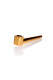 Handpfeife Roller gold L= 103 mm