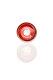 Plaisir Flutschkopf Farbspirale rot-weiß 18,8