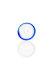 Plaisir Flutschkopf groß Farbrand blau 14,5