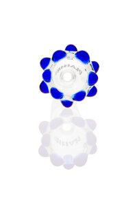 Plaisir Flutschkopf Doppelkrone blau 14,5