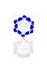Plaisir Flutschkopf Doppelkrone blau 18,8