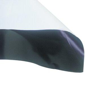 Schwarz - Weiß Folie 1 lfm