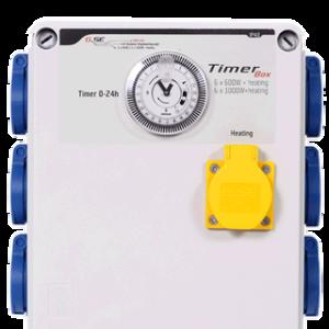 GSE Timer Box II 6 x 600 Watt + Heizung IP20