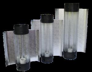 Cool Tube 125 mm Länge 505 mm, Außenreflektor