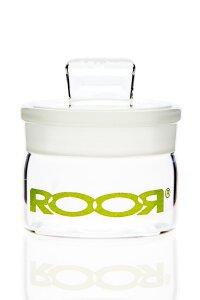 RooR Glasdose mit Deckel 30mm