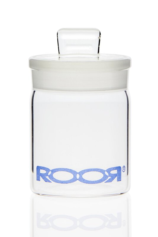 RooR Glasdose mit Deckel 50mm