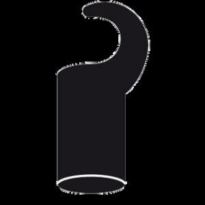 Homebox Plastikhaken kurz Ø 22 mm 4 Stück
