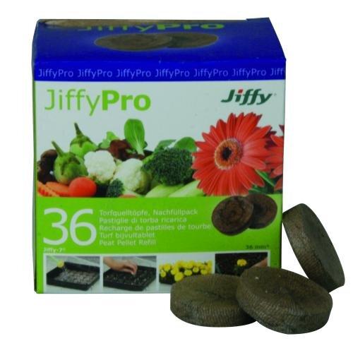 Jiffy 36 Stück Torf