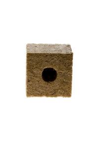 Steinwollwürfel Grodan 7 x 7 cm kleines Loch
