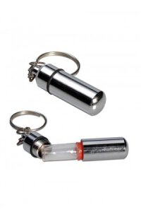 Schlüsselanhänger mit Fläschchen