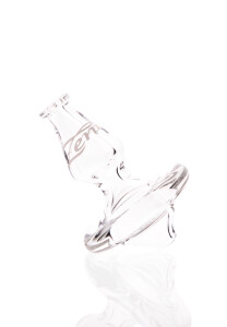 Zenit Carb Cap flach Borosilikatglas klar