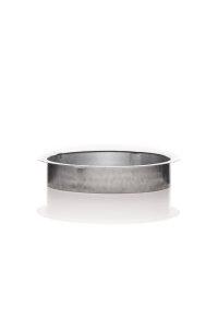 Bundkragen / Anschlussflansch 100 mm Metall