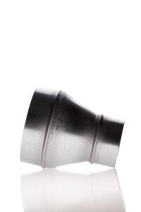 Reduzierung 200 mm - 125 mm Metall