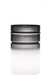 Rückschlagklappe 160 mm Metall