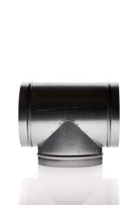 T Stück Durchmesser 125 mm Metall