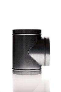 T Stück Durchmesser 100 mm Metall