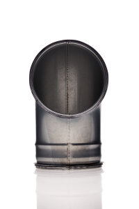 Bogenstück 90° 125 mm Metall
