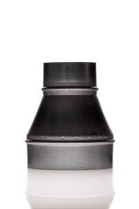 Reduzierung 200 mm - 100 mm Metall